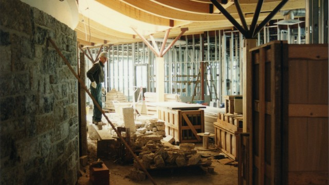 Wellness Institute Construction: 1995-1996